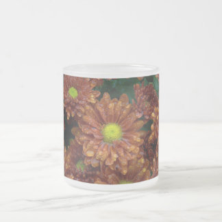 After the rain frosted glass mug