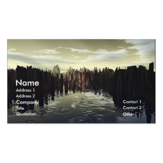 After The Rain Pack Of Standard Business Cards