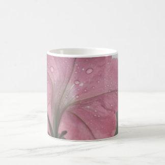 After the Rain Pink Petunia Mug