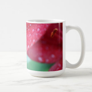 After the Rain Storm Lily Classic White Coffee Mug