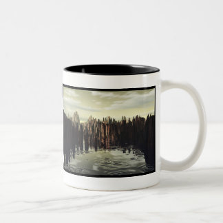 After the rain Two-Tone mug