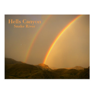 After the Storm in Hells Canyon Postcard