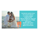 After the Wedding, Sea Horse Photo Card Invitation