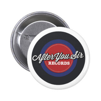 After You Sir Records Pin button