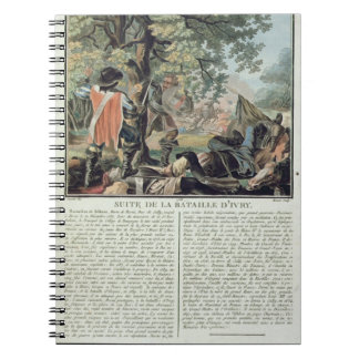 Aftermath of the Battle of Ivry (1590), engraved b Notebooks