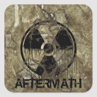 Aftermath Square Sticker