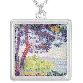 Afternoon at Pardigon, Var, 1907 Silver Plated Necklace