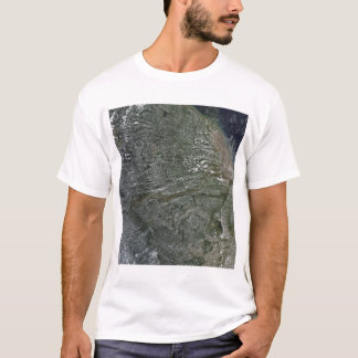 Afternoon clouds over the Amazon Basin T-Shirt