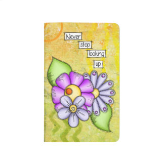 Afternoon Delight Positive Thought Doodle Flower Journal