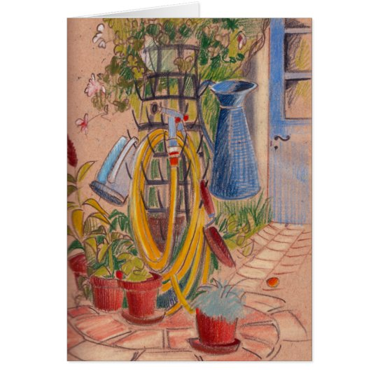 Afternoon in a French Garden Card