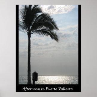 Afternoon in Puerto Vallarta Poster