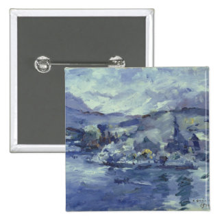 Afternoon on Lake Lucerne, 1924 15 Cm Square Badge