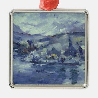 Afternoon on Lake Lucerne, 1924 Christmas Ornament
