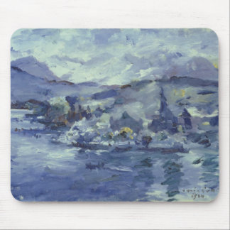 Afternoon on Lake Lucerne, 1924 Mouse Pad