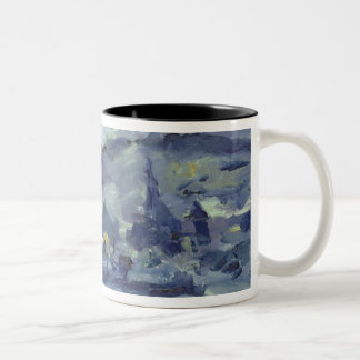 Afternoon on Lake Lucerne, 1924 Two-Tone Coffee Mug