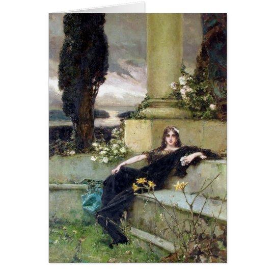 Afternoon Silence - Wilhelm Kotarbinski Card