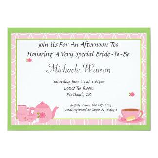 Afternoon Tea 11 Cm X 16 Cm Invitation Card