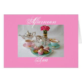 Afternoon Tea Greetings Card