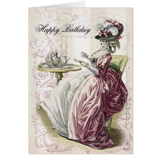 Afternoon Tea, Happy Birthday, Card
