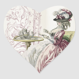 Afternoon Tea! Heart Sticker
