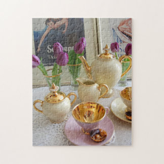 Afternoon Tea Jigsaw Jigsaw Puzzle