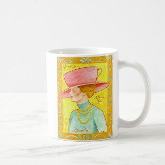 Afternoon Tea Lady Mugs