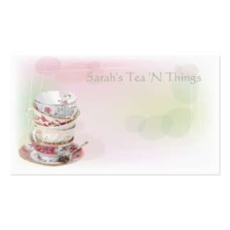 Afternoon Tea Pack Of Standard Business Cards