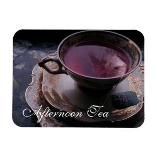 Afternoon Tea Photo Magnet