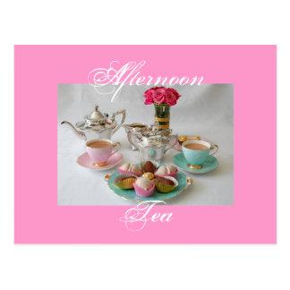 Afternoon Tea Postcard