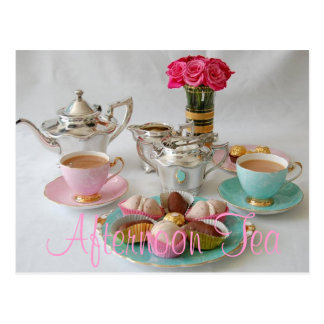 Afternoon Tea Postcard