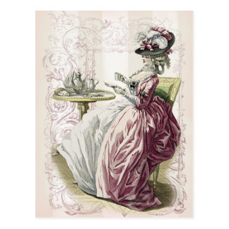 Afternoon tea! post card