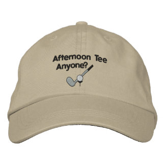Afternoon Tee Golfing Embroidered Hat