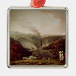 Afternoon view of Coalbrookdale, 1777 Christmas Ornament