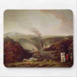 Afternoon view of Coalbrookdale, 1777 Mouse Mat