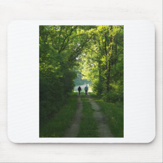 Afternoon Walk Mouse Pad