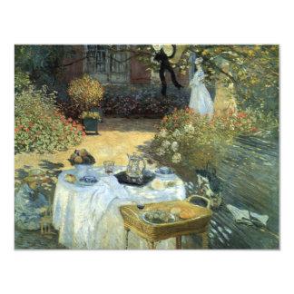 Afteroon Tea Party Impressionism Art Bridal Shower 11 Cm X 14 Cm Invitation Card