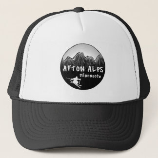 Afton Alps Minnesota skier Trucker Hat