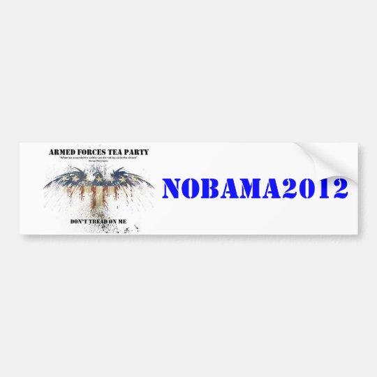 AFTP NoBama Sticker Bumper Sticker