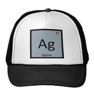 Ag - Agave Nectar Chemistry Periodic Table Symbol Cap