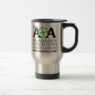 AGA Alabama Geocachers Association Travel Mug
