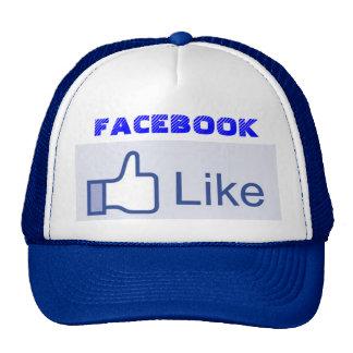 Again Facebook cap