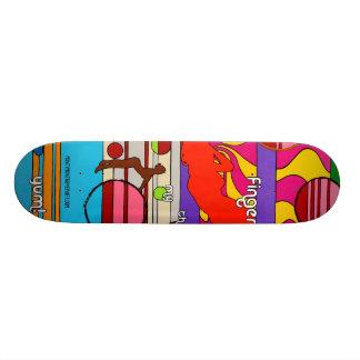 """""""Again Please"""" 20 Cm Skateboard Deck"""