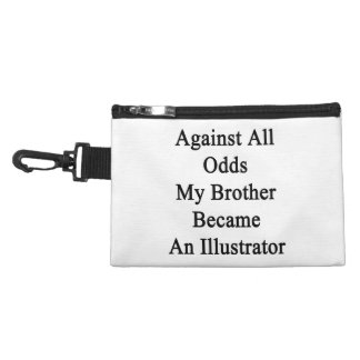 Against All Odds My Brother Became An Illustrator. Accessory Bags