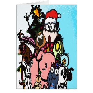 Against Animal Cruelty Christmas Card