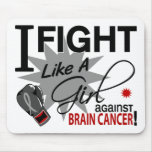 Against Brain Cancer Mouse Pad