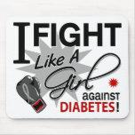 Against Diabetes Mousepads