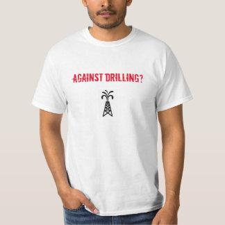 Against Drilling Start Walking T-Shirt