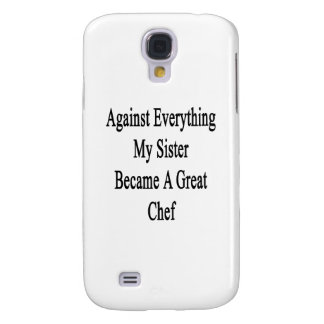 Against Everything My Sister Became A Great Chef Galaxy S4 Covers