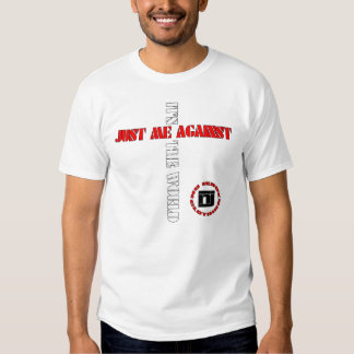 against the world tee shirts