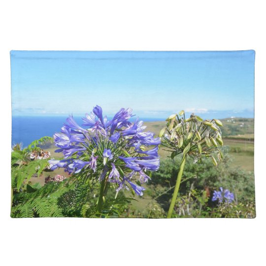 Agapanthus in the Azores Placemat